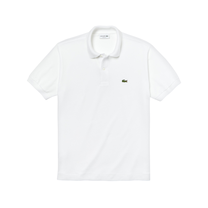 Lacoste Polo weiss